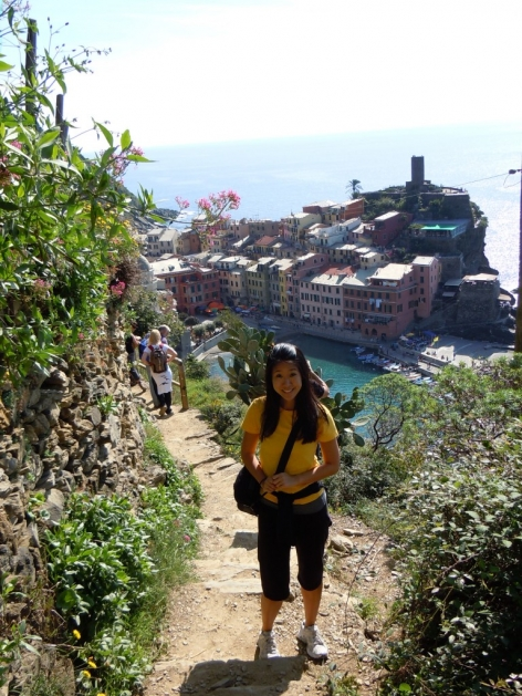 Turning 30 in Vernazza, Italy 2010