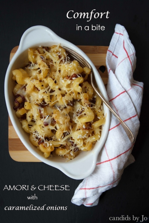 Another take on an American staple: mac & cheese