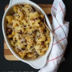 Sweet dreams & mac and cheese with caramelized onions