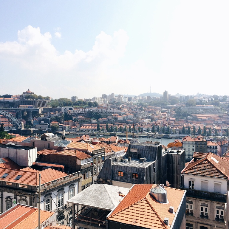 Porto is simply stunning.  I also love the uniformity of the terra cotta red roofs in Portugal whether it be in the big cities or small villages in the mountains.