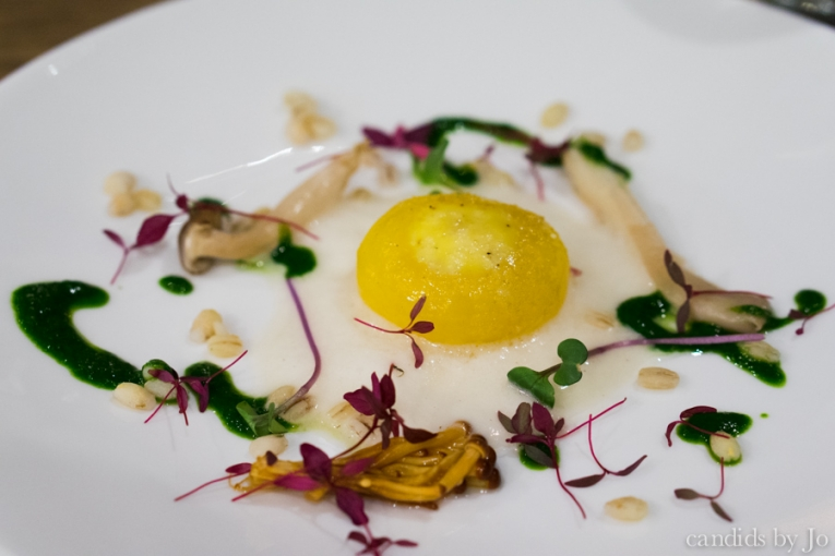 The Imperial Fulham confit duck yolk