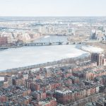 Boston from the sky & the ramifications of an expat life
