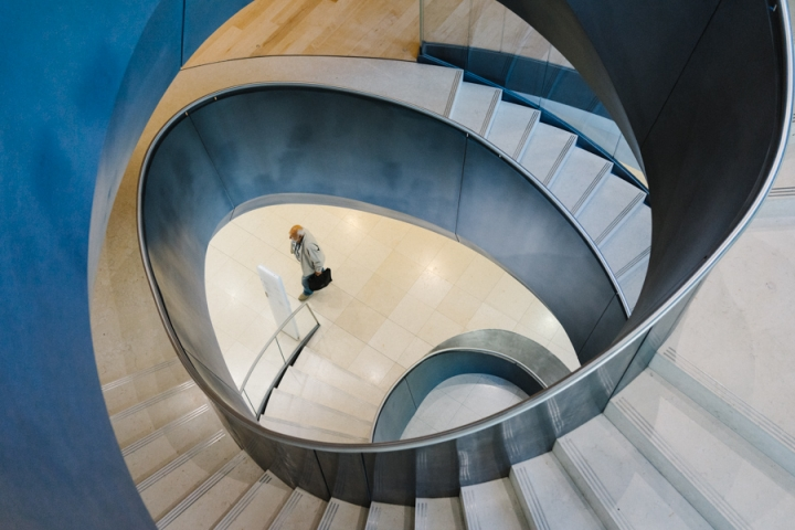 London Wellcome Collection spiral staircase