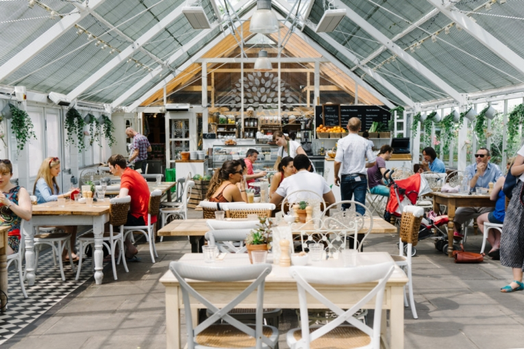The Quince Tree cafe in Clifton Nurseries