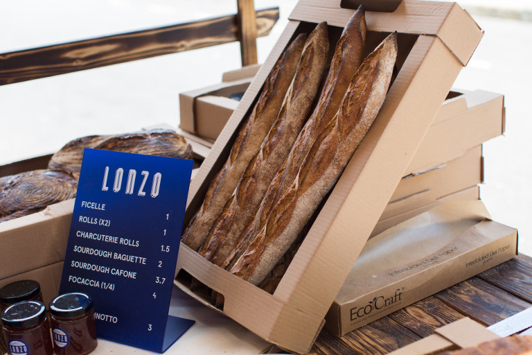 Lonzo bread Druid St Market London