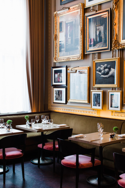 Berners Tavern London EDITION art wall