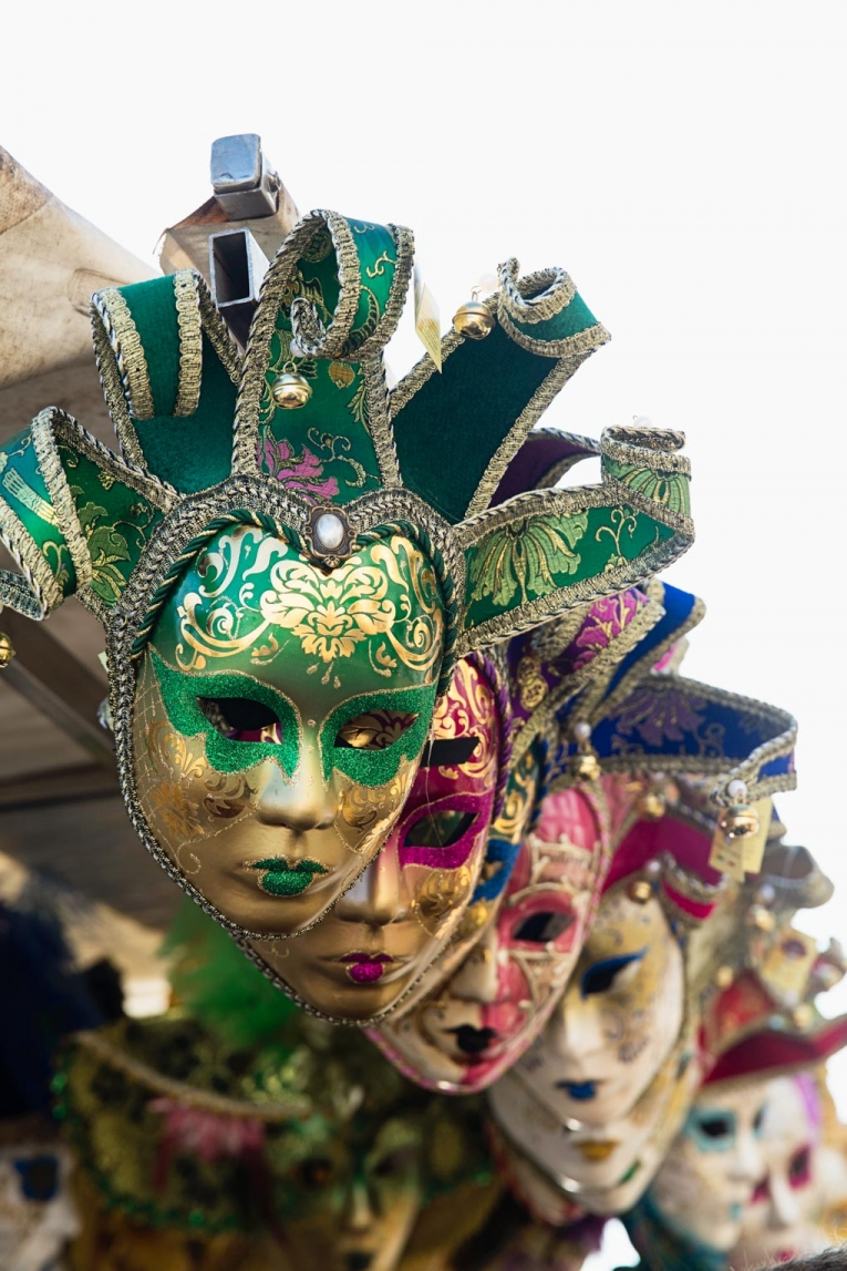 Ventian masks photo