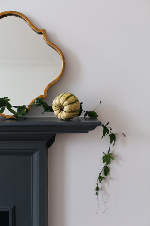 Thanksgiving pumpkin decoration photo