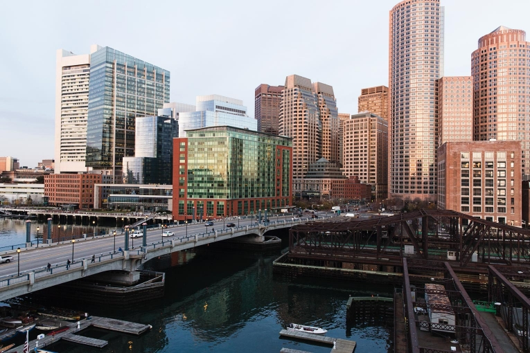 Boston Financial District photo