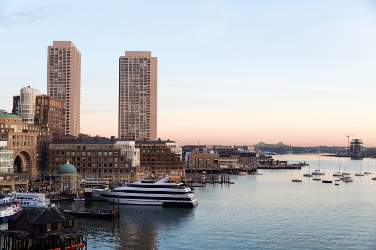 View of Boston Harbor from Envoy Hotel photo