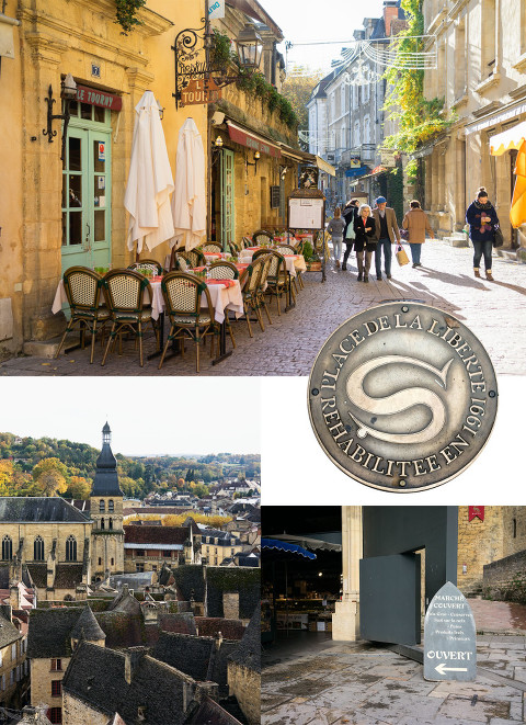 Medieval town of Sarlat in the Dordogne Valley