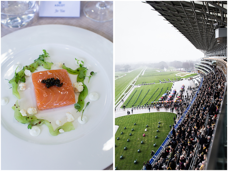 Ascot Raymond Blanc salmon photo