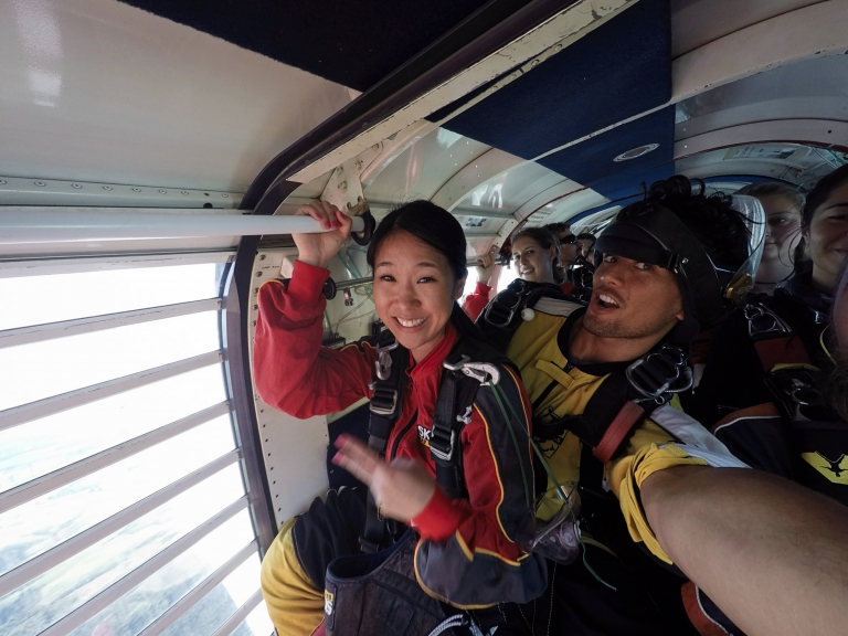 Bay of Islands Sky diving New Zealand  photo
