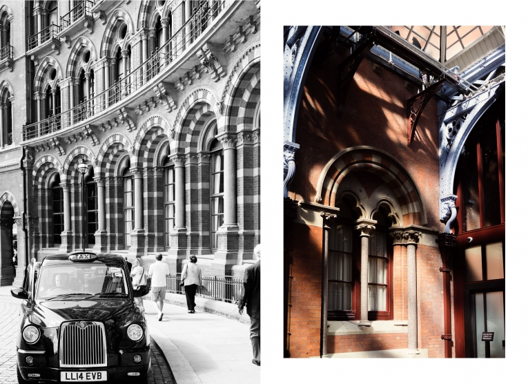 St Pancras hotel arches photo