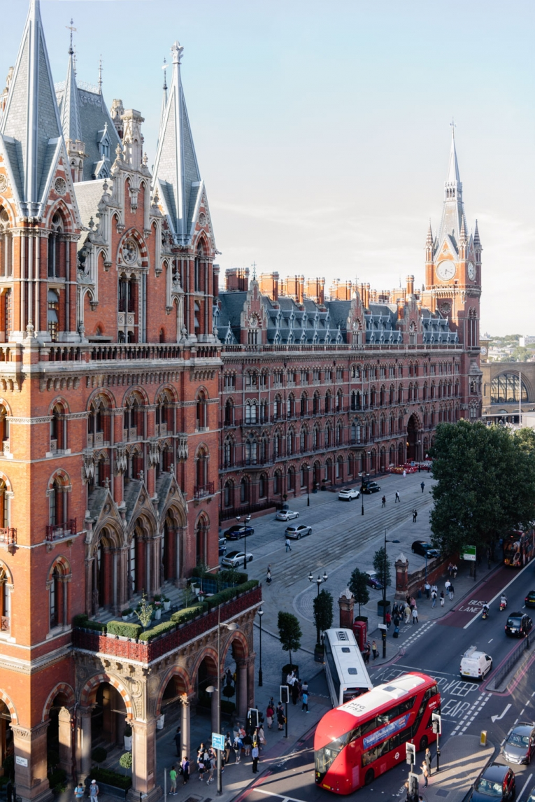 View of St Pancras Rennaisance Hotel photo