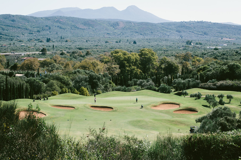 Costa Navarino golf course photo