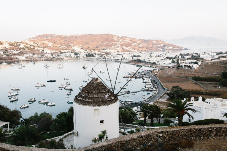 Mykonos windmill photo