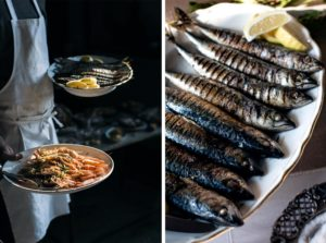 Venice langoustines and mackerel photo