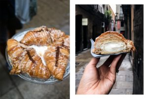 Devour Barcelona Pasteleria Hofmann marscapone filled croissant photo