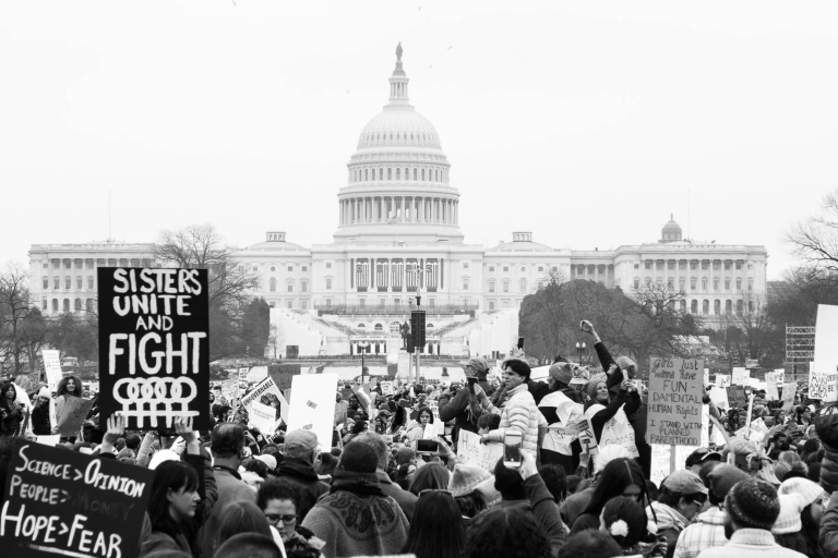 Womens March Washington DC Capitol Hill photo