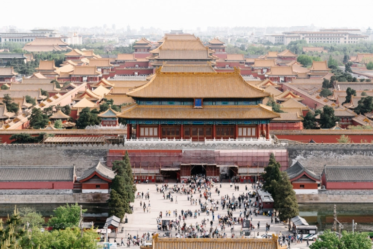 With only two days in Beijing we focused on just the Beijing classics which includes the Forbidden City. Visit the blog to learn where you can find best view overlooking the Forbidden City and its golden roofs